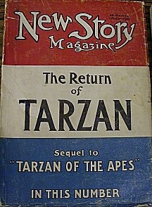 The Return of Tarzan (édition originale de 1913, en feuilleton dans New Story)