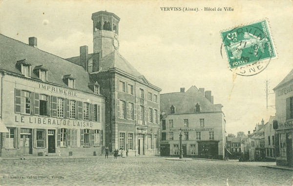 Vervins (carte postale Chaseray)