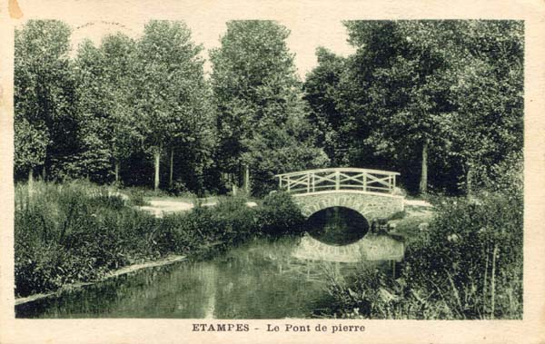 Collection Veuve Rosnet (Combier): Le Pont de pierre en vert