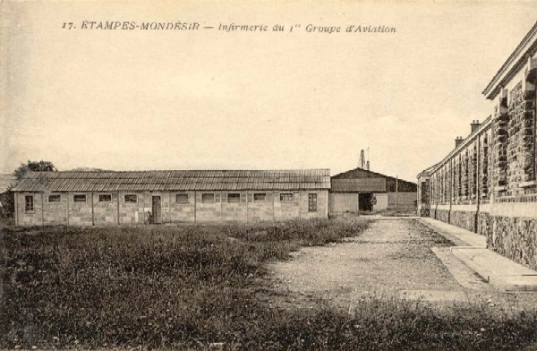 Rameau n°17: Infirmerie du 1er groupe d'Aviation